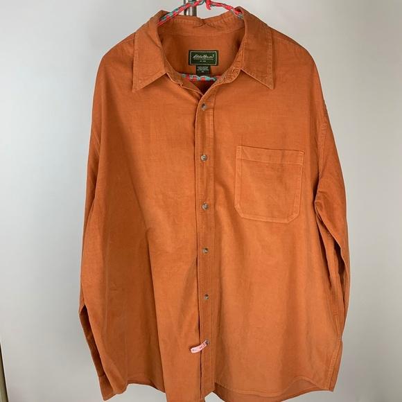 Eddie Bauer Other - Eddie Bauer Men's Cotton Corduroy LS Shirt XL